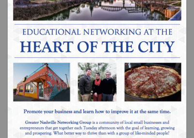 Networking Group Flyer